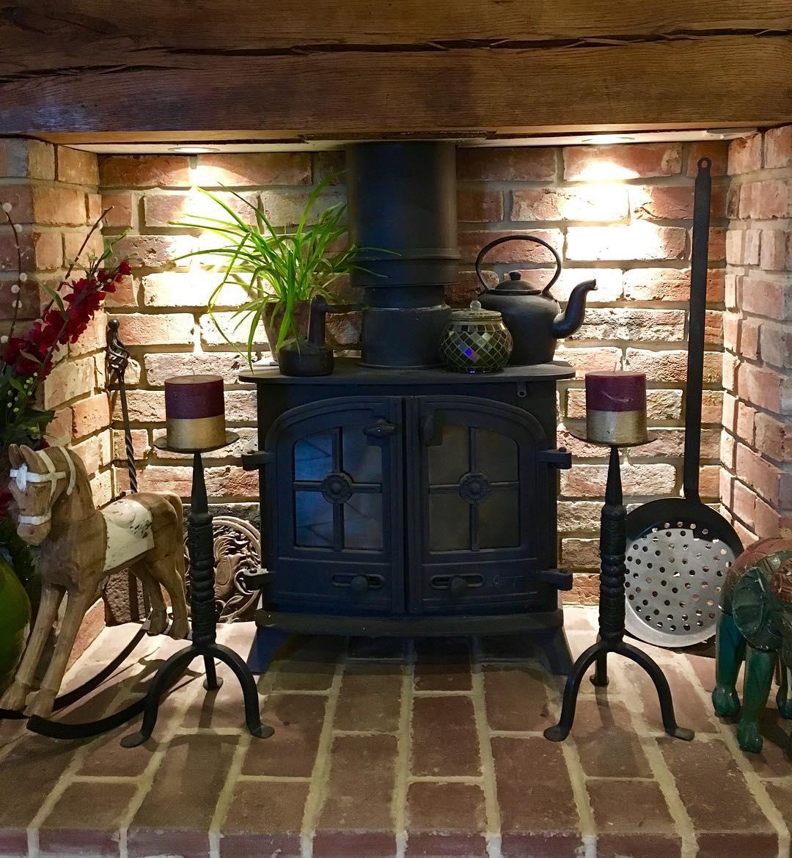 Yeoman wood burning stove